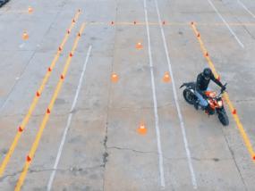 Аэросъемка для мотошколы