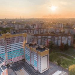 Панорама с дрона г. Череповец - ЖК На Первомайской 2018-08-14 13-43-39