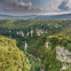 Грузия - Каньон Окаце