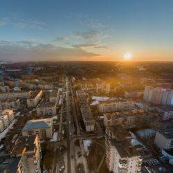Панорама с Дрона Вологда - Фрязиново